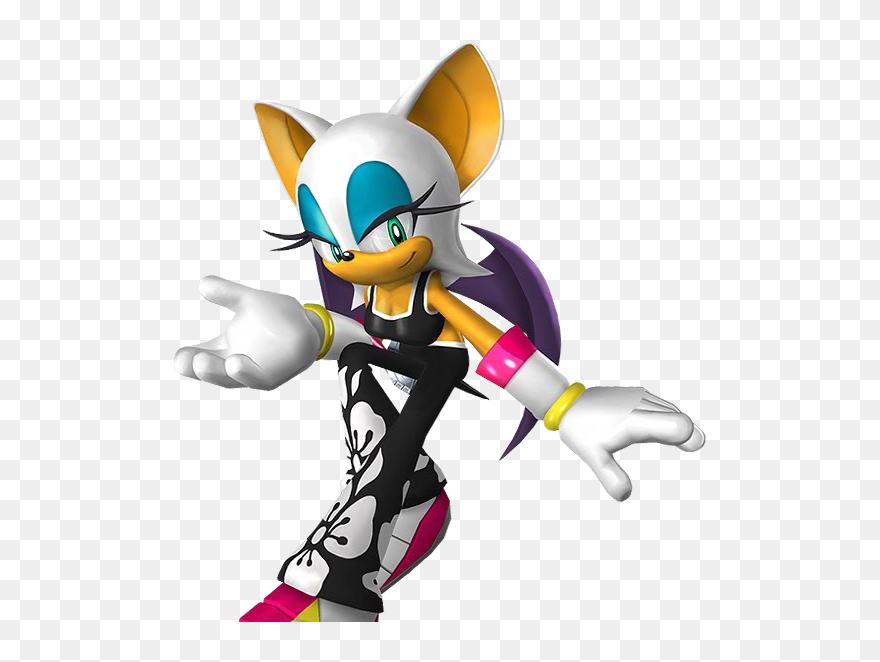 Rouge The Bat Sonic Riders Zero Gravity Clipart 5725294 Pinclipart