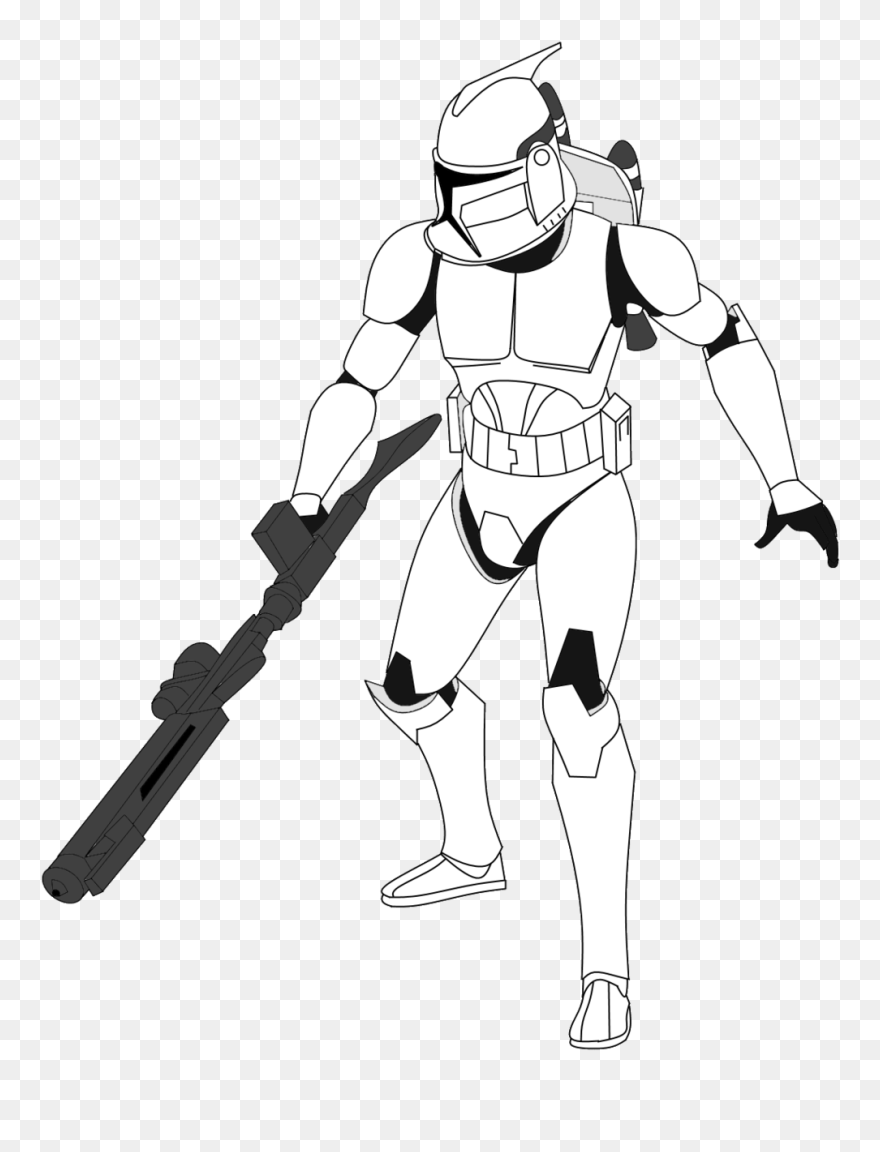 Star Wars Clone Wars Jet Troopers Star Wars Drawings Clone Clipart 5731819 Pinclipart