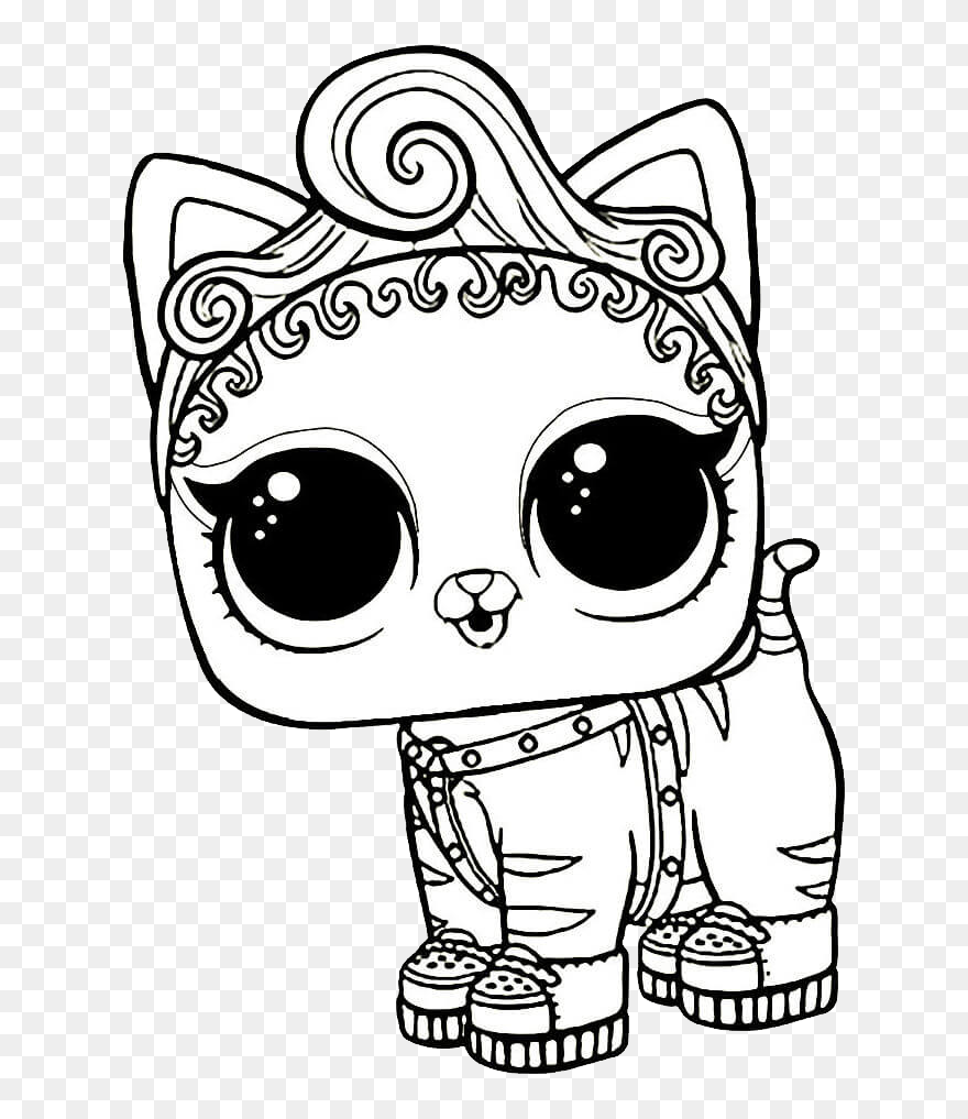 L O L Surprise Doll Png Lol Surprise Black And White Clipart 5733019 Pinclipart