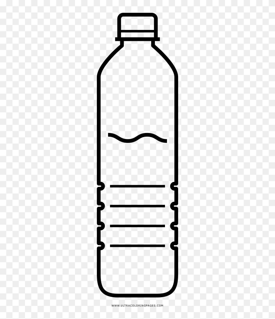 Water Bottle Coloring Page Transparent Background Plastic Bottle Clipart Png Download 5734329 Pinclipart