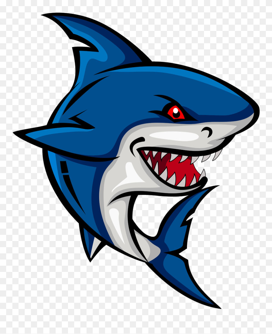 Shark Cartoon Clip Art Cartoon Shark Png Transparent Png 5741299 Pinclipart