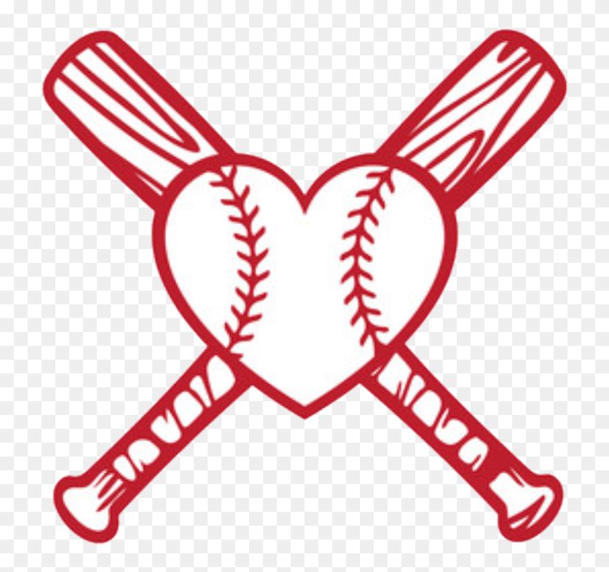 Love Baseball Clip Art Png Download Heart Baseball Svg Free Transparent Png 5757252 Pinclipart