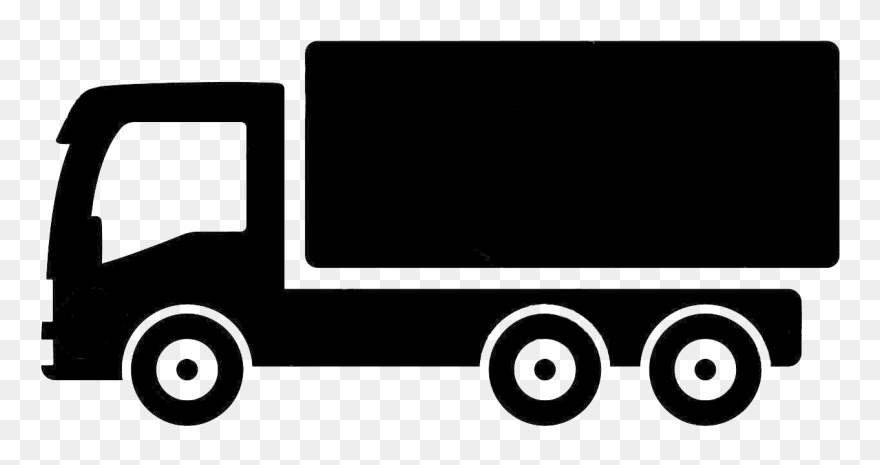 Car Pickup Truck Thames Trader Truck Clipart Png Black And White Transparent Png 5759665 Pinclipart