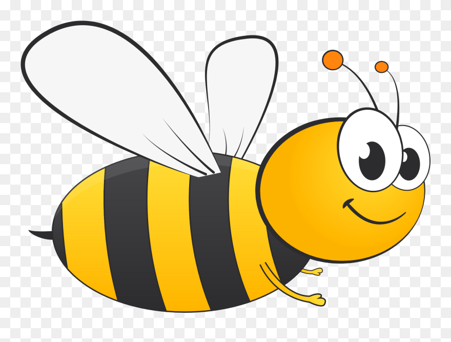 Cute Bee Transparent Png Clipart Free Download Honey Bee Vector Png 5763131 Pinclipart