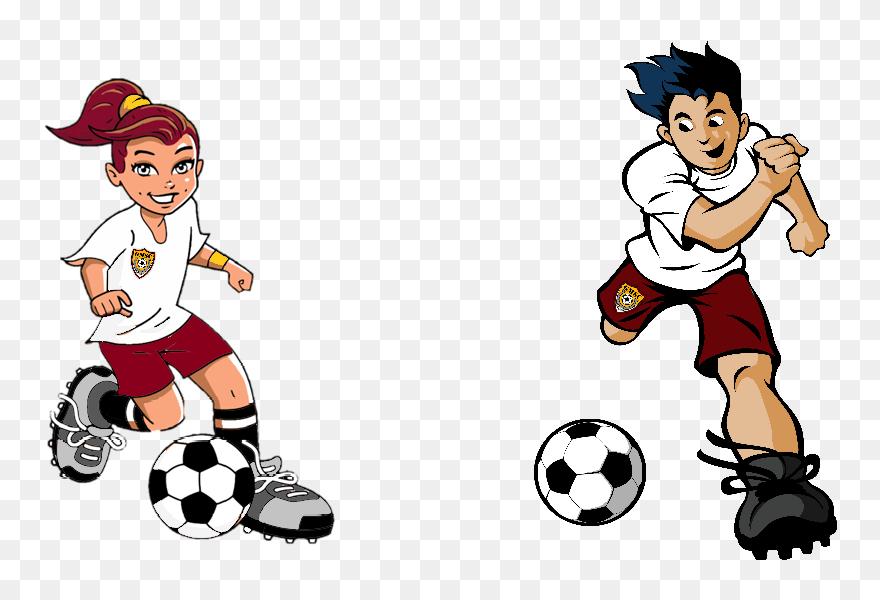 Transparent Soccer Girl Png Soccer Player Cartoon Png Clipart 5792670 Pinclipart