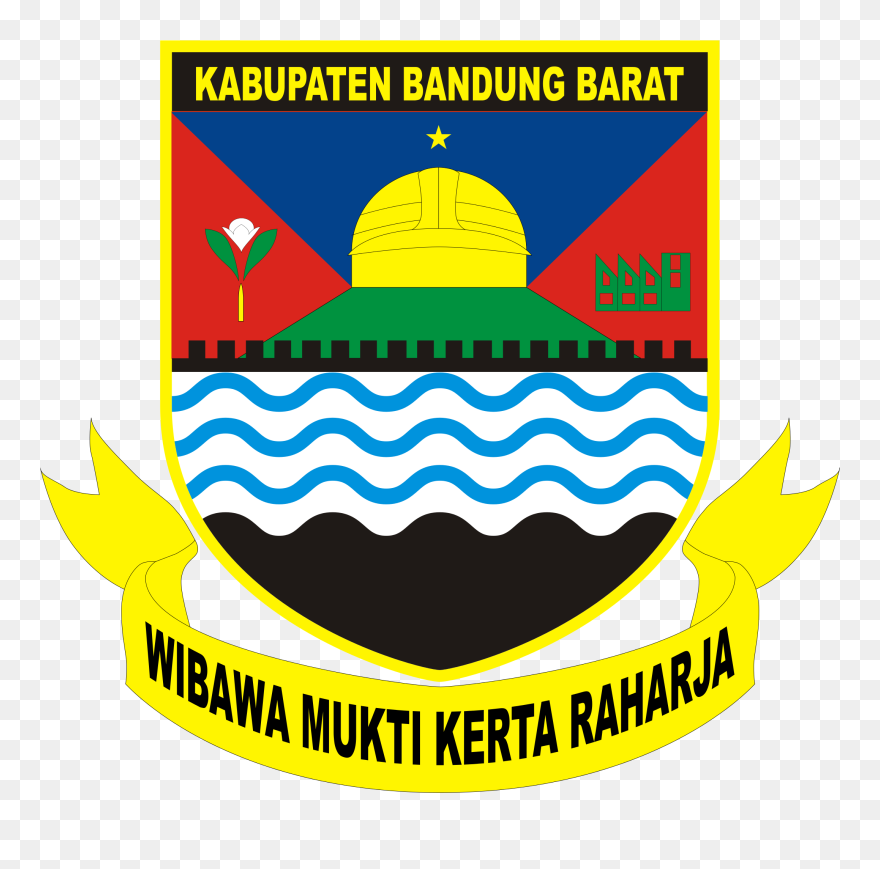 Logo Kabupaten Bandung Barat Clipart 5798152 Pinclipart