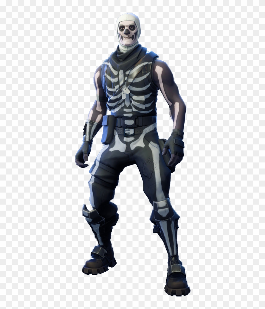 Fortnite cute. Skull trooper png image