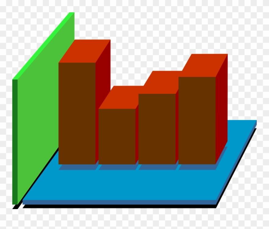 Bar Graph Clipart - Bar Graph 3d Png Transparent Png (#581115