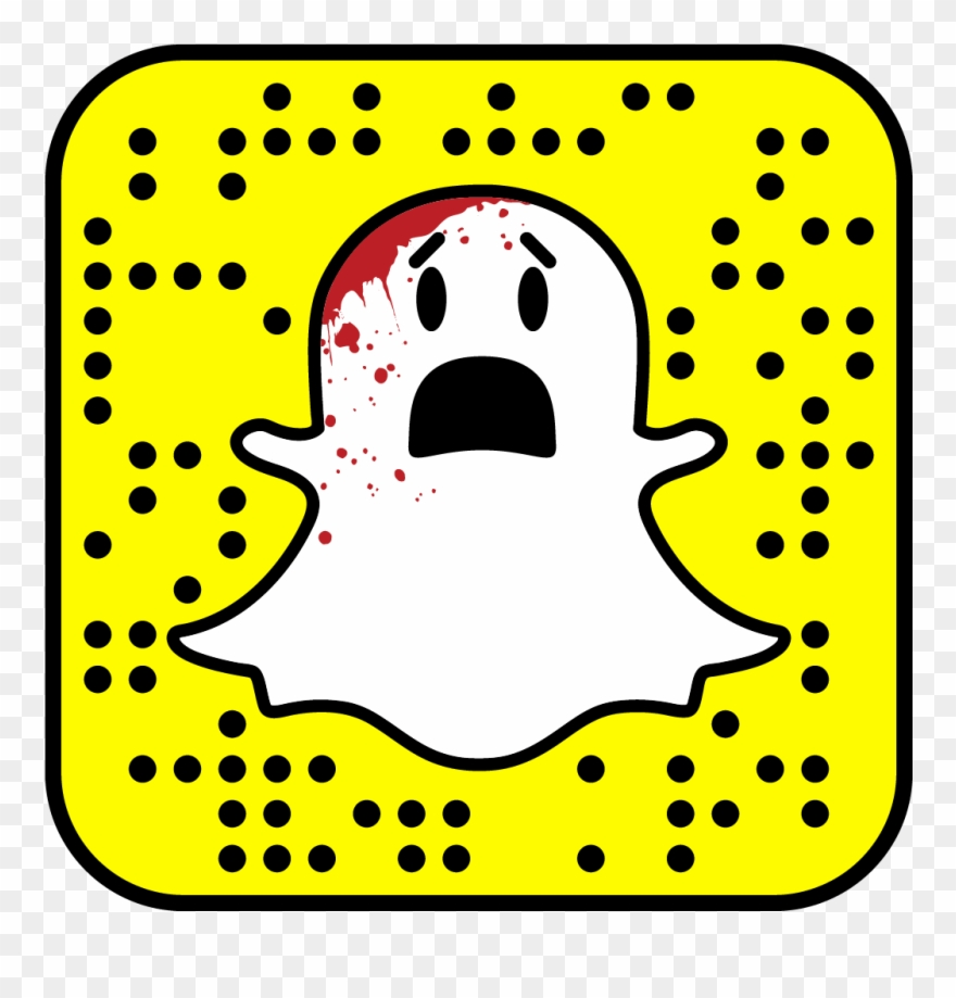 Scream Queens On Twitter Snapchat Qr Code Png Clipart 581731