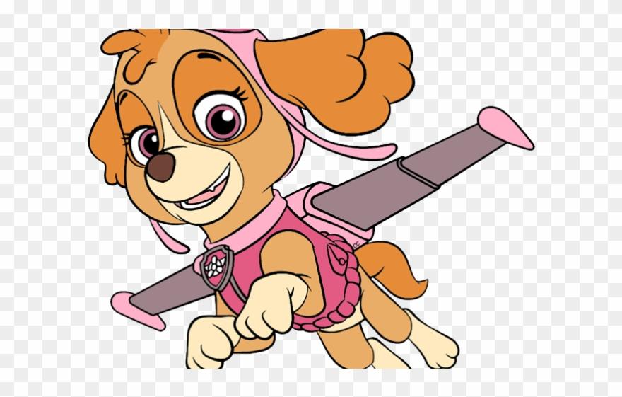 Ok Clipart Animated - Ski Paw Patrol Cartoon - Png Download