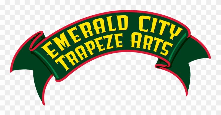 Emerald City Trapeze Logo Clipart 584934 Pinclipart