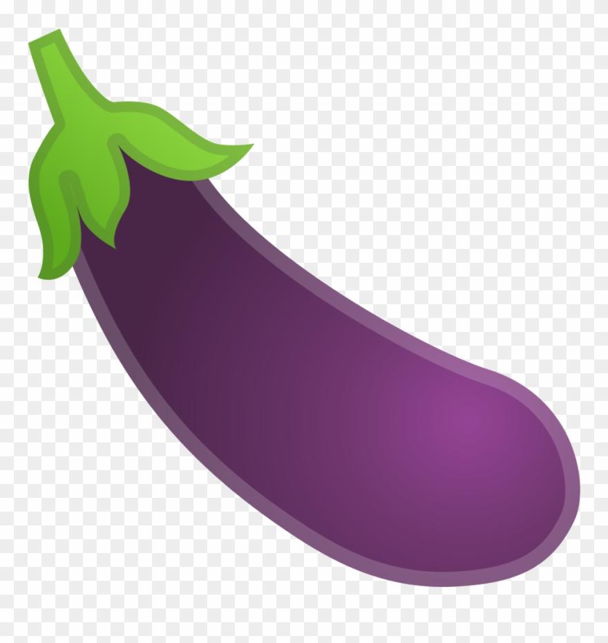Eggplant Vector Emoji Image Royalty Free Eggplant Emoji Clipart