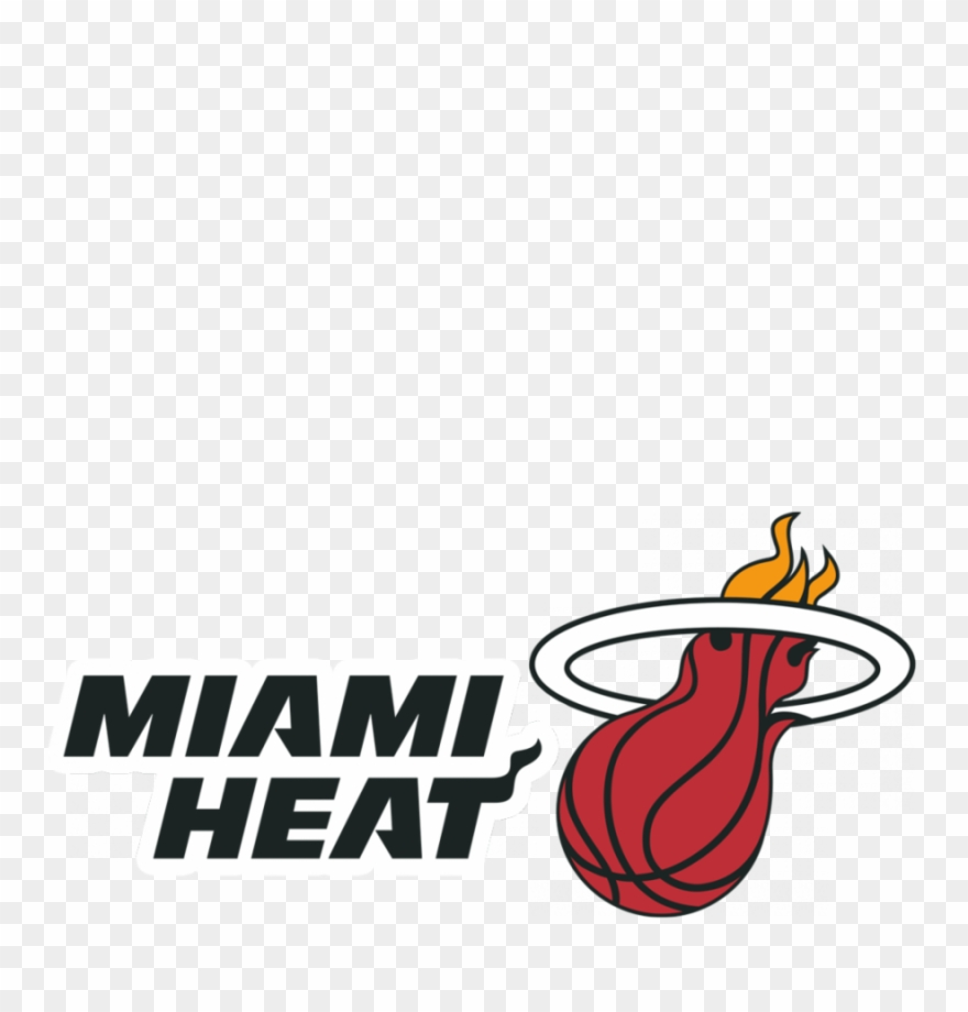 Miami Heat Logo Clipart Miami Heat Logo Miami Heat Logo Png Download 592074 Pinclipart