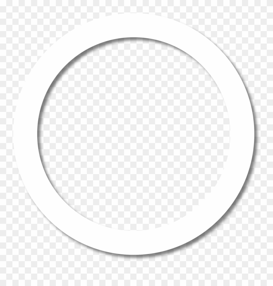 White Circle Outline Png Www Imgkid Com The Image Kid - Circle Clipart