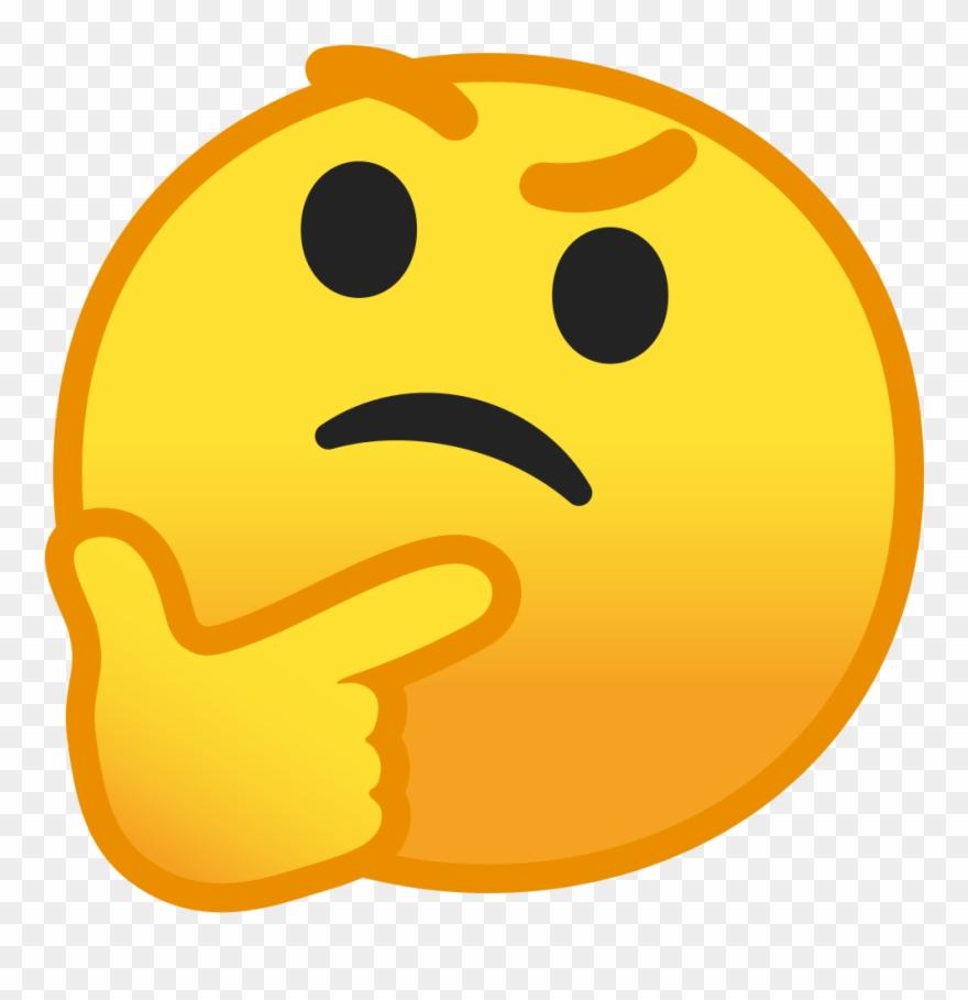 Thinking Tanabe - Thinking Emoji Icon Png Clipart (#594526