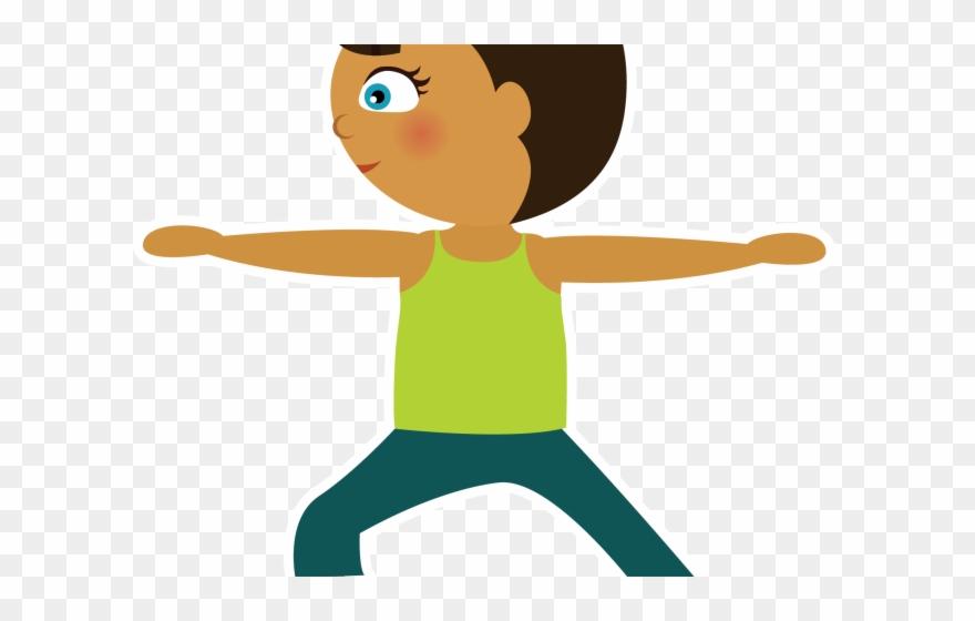 Yoga Clipart Kid Yoga Kids Yoga Clipart Png Transparent Png 595417 Pinclipart