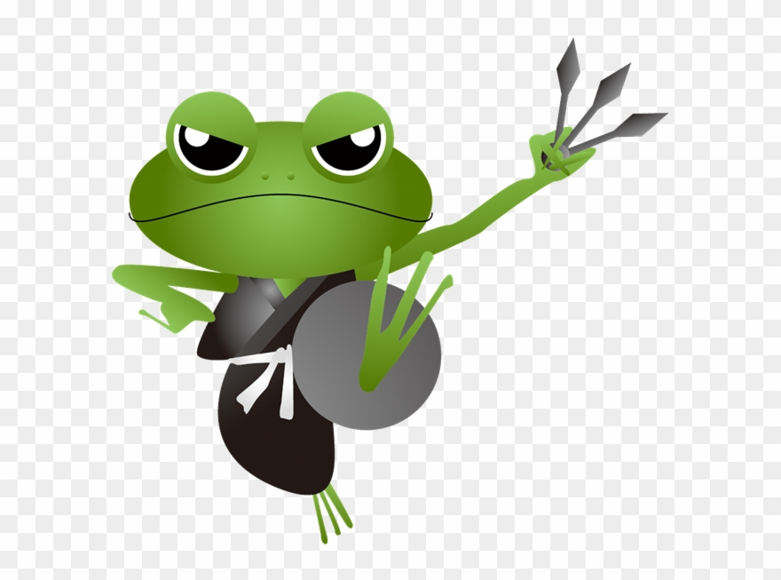 What Do You Mean I Cant Deduct My Guard Frog Ninja Frog Clipart