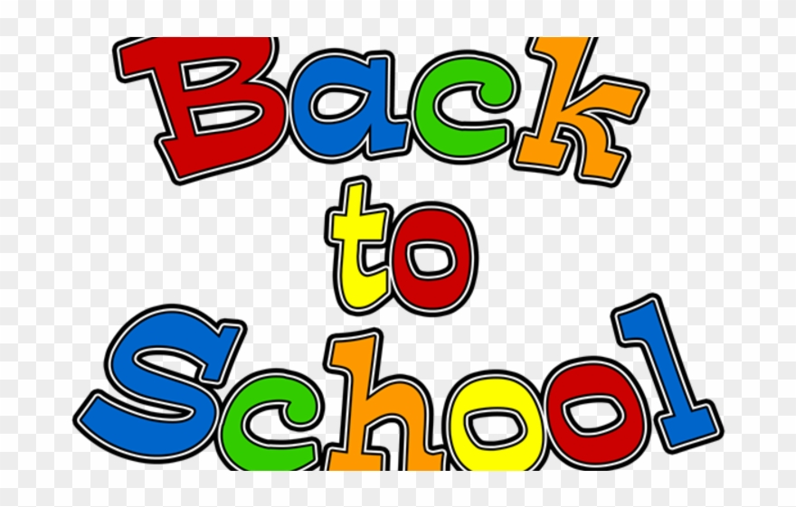 Children Return To School Back To School 2018 Clip Art Png Download 597064 Pinclipart