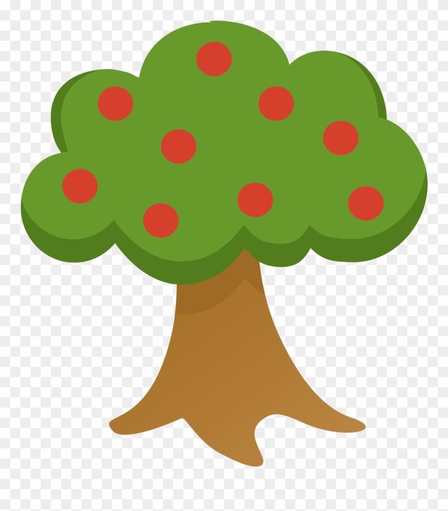 Apple Tree Clipart Arboles De Granja Animados Png Download