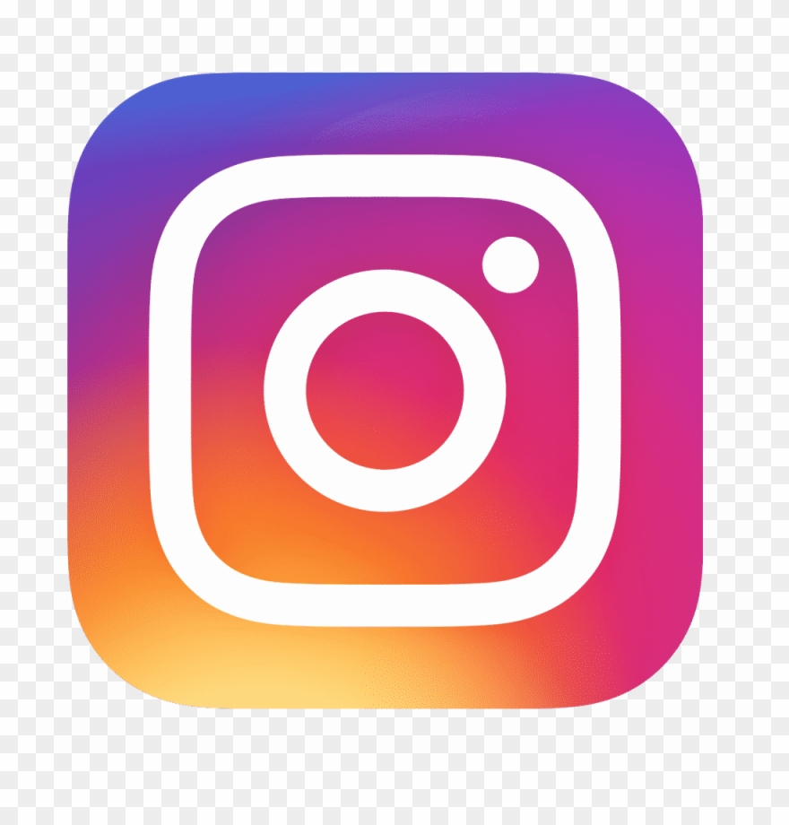 Instagram symbol. Follow us on these