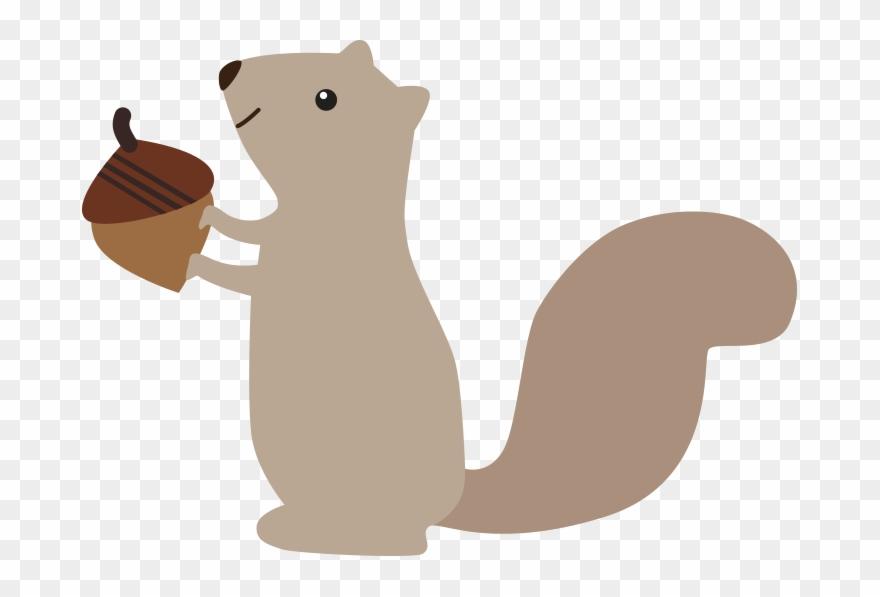 Cute Squirrel Clip Art