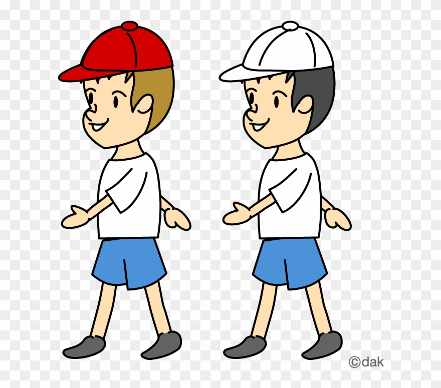 Multi Sport Clipart Two Boys Walking Clipart Png Download 61407 Pinclipart
