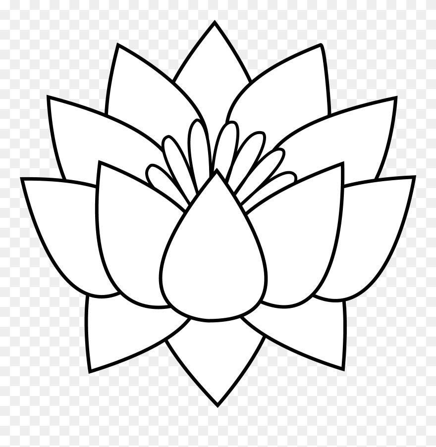 Gallery Flower Line Drawing Clip Art Free Draw Flowers Clip Art