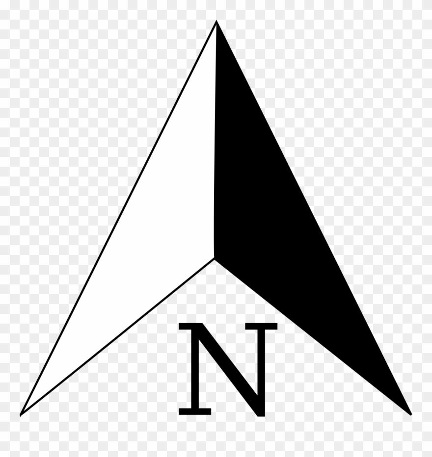 North Arrow Clipart (#63896) - PinClipart