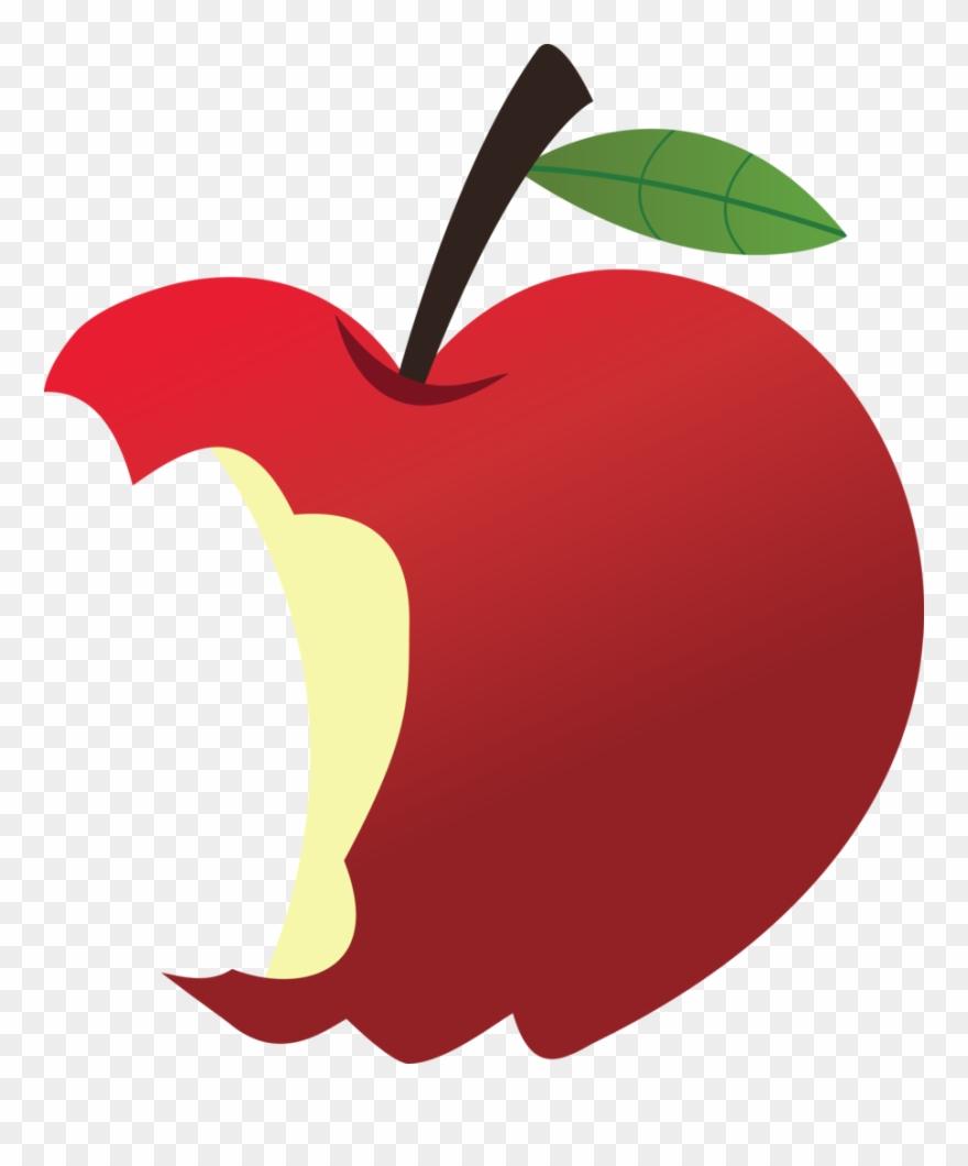 Apple bitten. I remember taking all