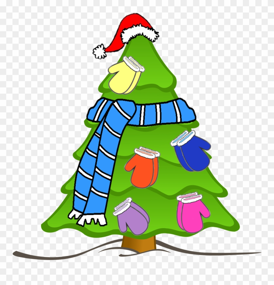 Collection Of Mitten Tree High Quality Christmas Tree Drawing