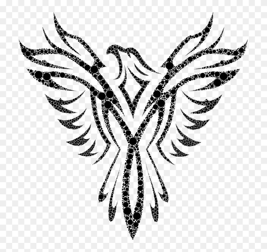 Eagle clip art free black phoenix png download