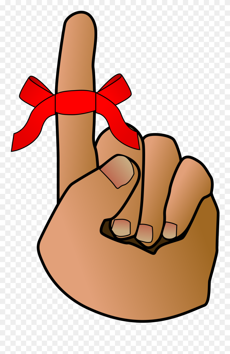 this free clip arts design of reminder hand clipart finger with string tied around png download 68668 pinclipart clipart finger with string tied around