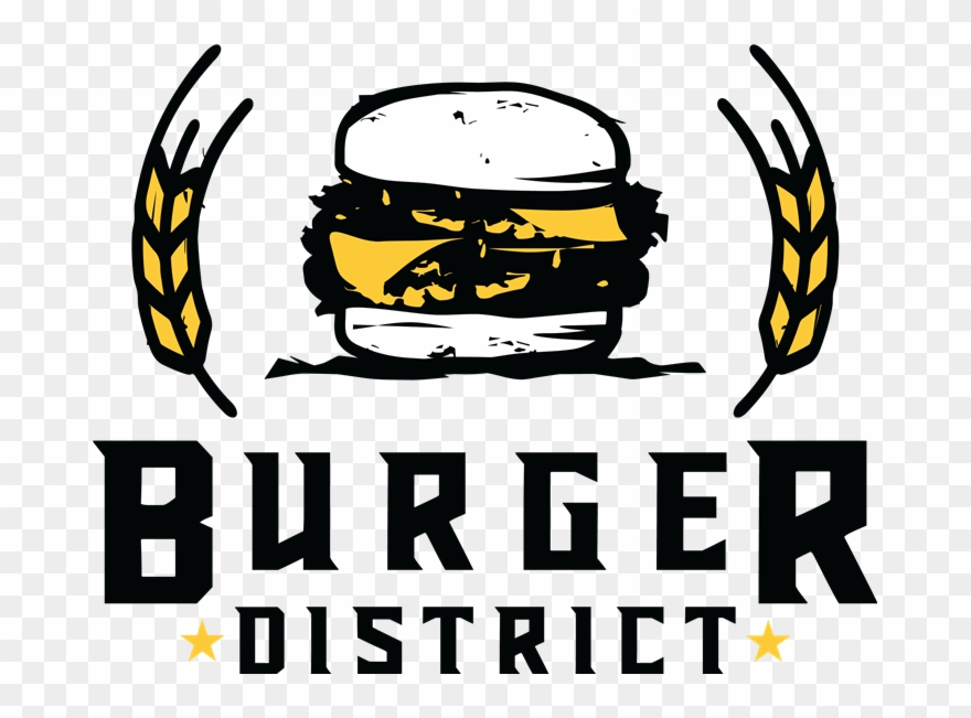 Welcome To - Burger District Clipart