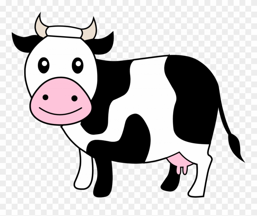Cow outline. Incep imagine clipart png