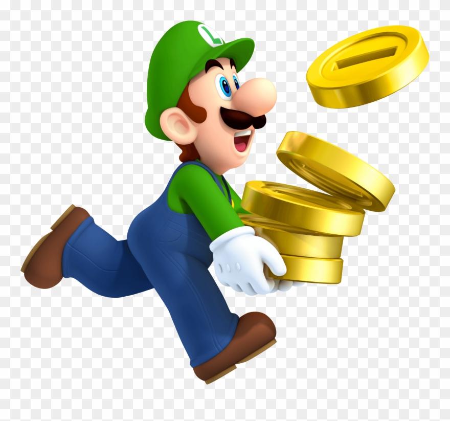 Luigi Coins New Super Mario Bros 2 - New Super Mario
