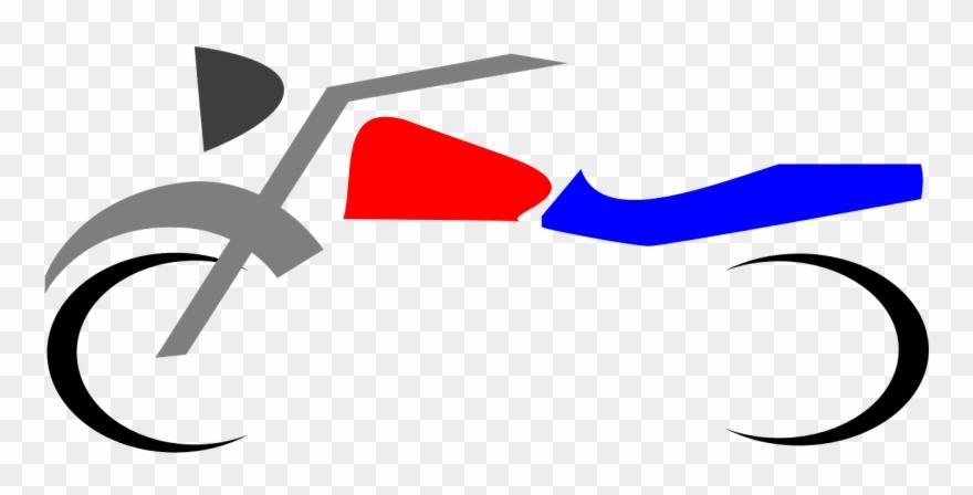 Motocross Racer Motorcycle Moto Desenho Branco Png Clipart