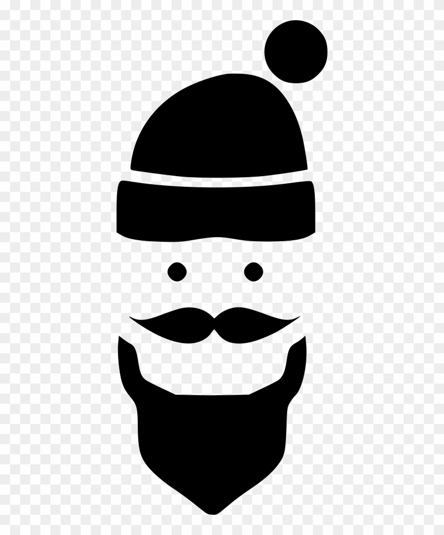 Beard man style fashion hipster comments icon clipart