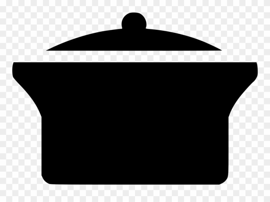 Black - Cooking Pot Clip Art - Free Transparent PNG Clipart Images Download