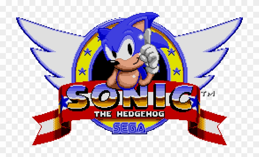 This Inspired Me To Make Sonic Games Sonic The Hedgehog 2 Sega Genesis Game Clipart 614975 Pinclipart