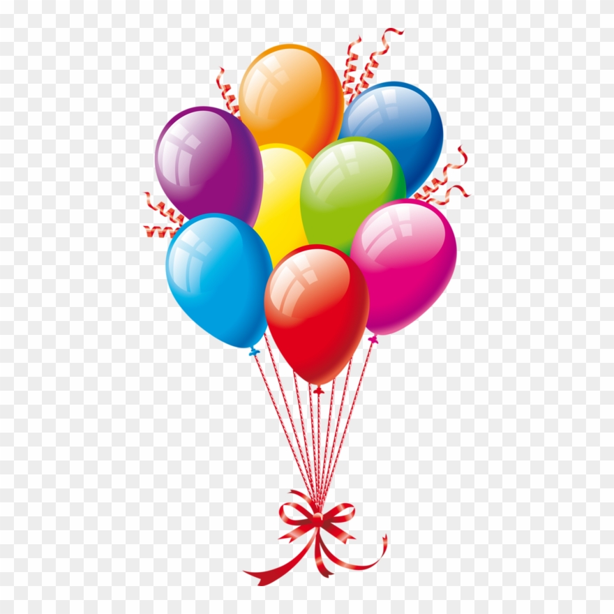 Birthday Balloons Clipart Free