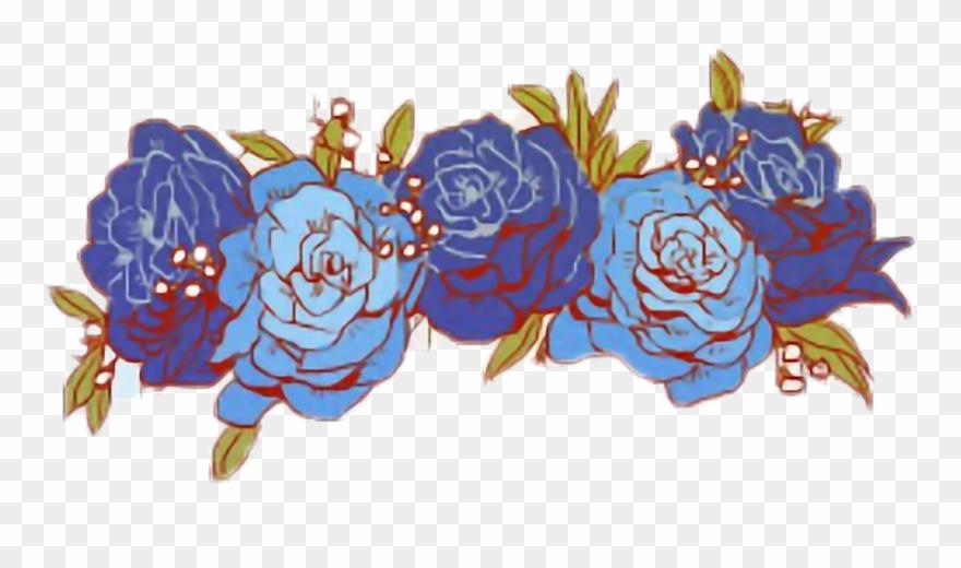 Flower crown blue. Flowercrown tumblr victor