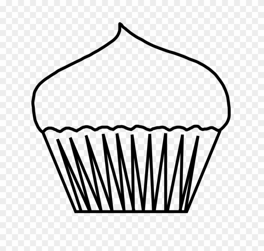 Full Size Of Ice Cream Cone Coloring Page Free Large - Blank Cupcake Coloring  Pages Clipart (#625595) - PinClipart
