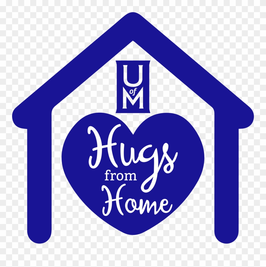 Send Your Student A Hug From Home Hug Clipart 628524 Pinclipart