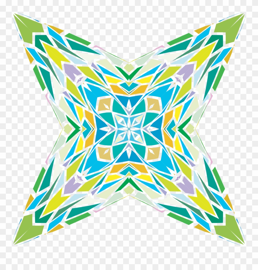 Art abstract. Clipart geometric abstraction