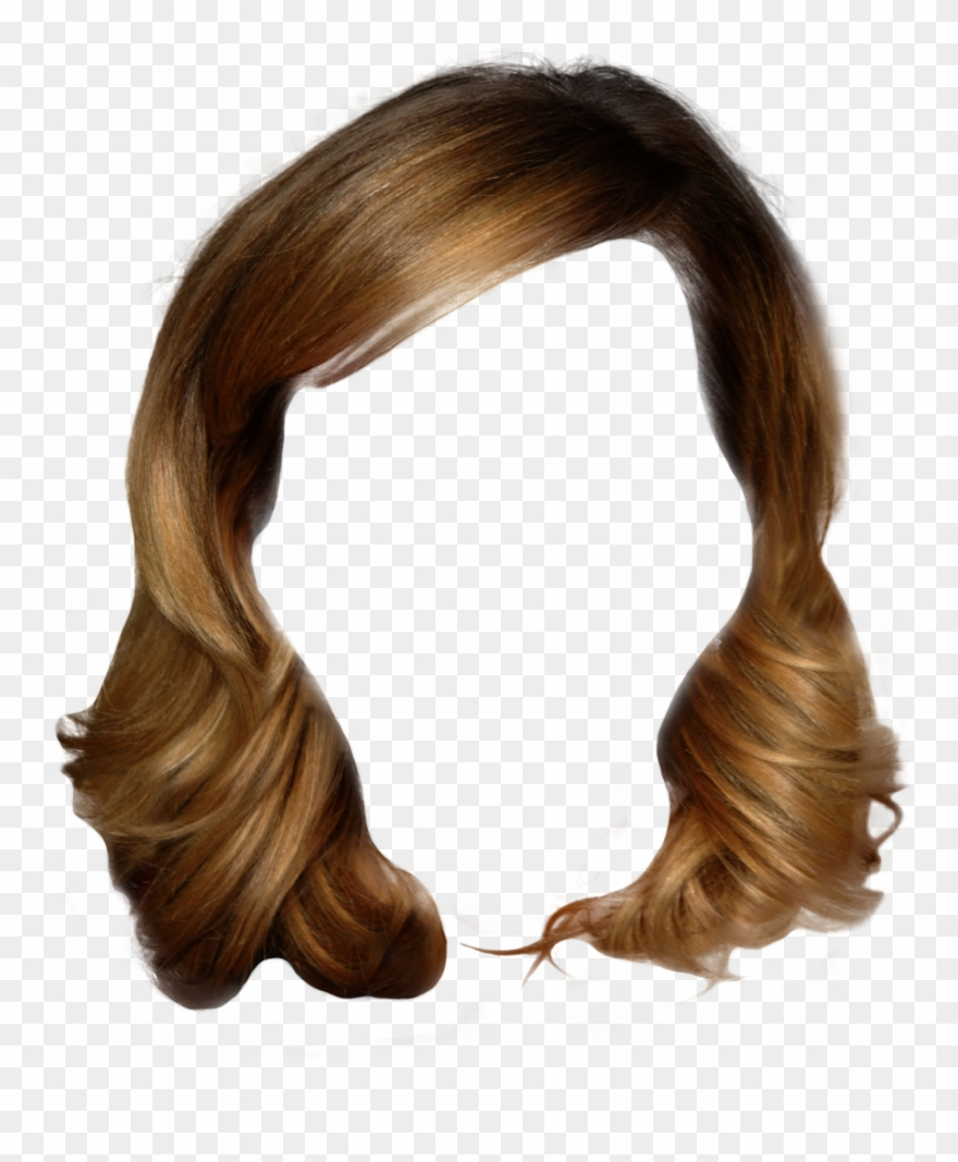 Hairstyles Clipart Girl Hairstyle Long Hair Man Png Transparent