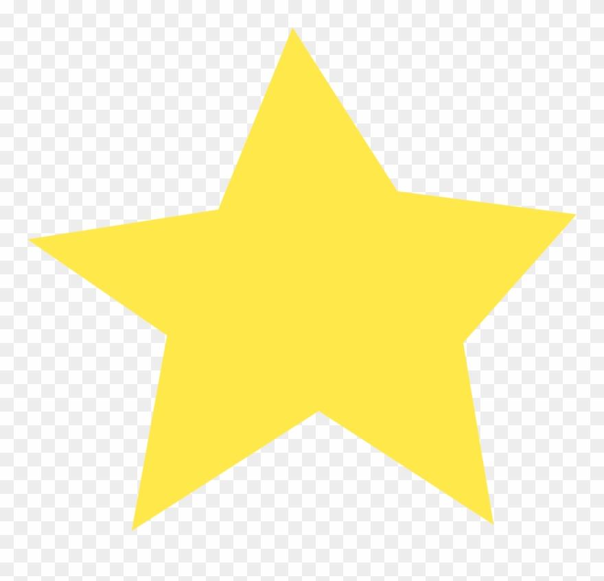 Download Star Color Gold - Transparent Background Star