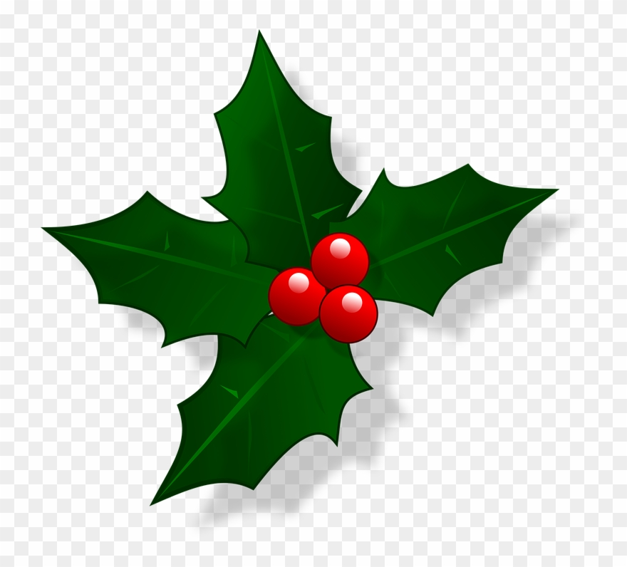 Christmas Holly Clip Art.Christmas Opening Hours Christmas Holly Clipart 640006