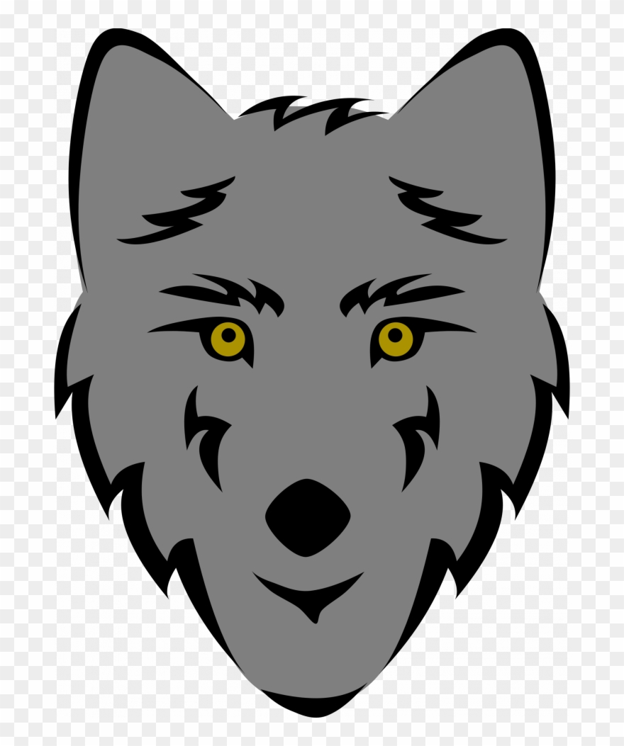 Wolf angry PNG Picture.