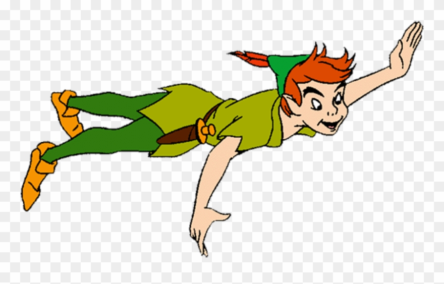 Peter Pan Tinker Bell Peter And Wendy Wendy Darling - Peter Pan With Tinkerbell Transparent Clipart