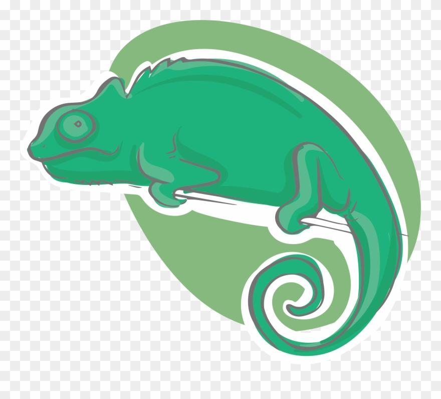 Png Royalty Free Chameleons Reptile Cartoon Icon Gambar Kartun
